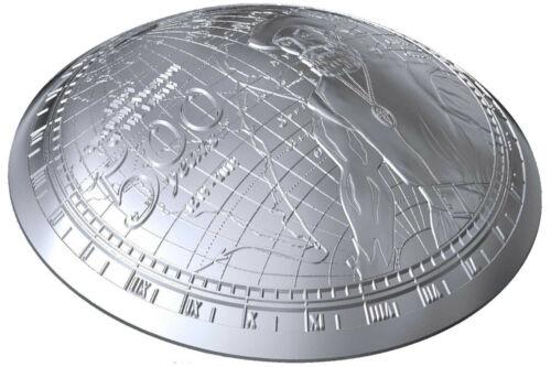 $2 Dollar Magellan 500th Anniv Circumnavigation of the World Samoa Silver 2019