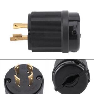 4-pole Wire Twist Lock Electrical Male Plug Connector L14-30P 30A 250V