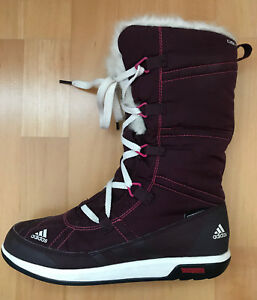 detailed look 80ffb 2db64 Image is loading Adidas-Choleah-Womens-Lace-up-Snow-boots-Climaproof-