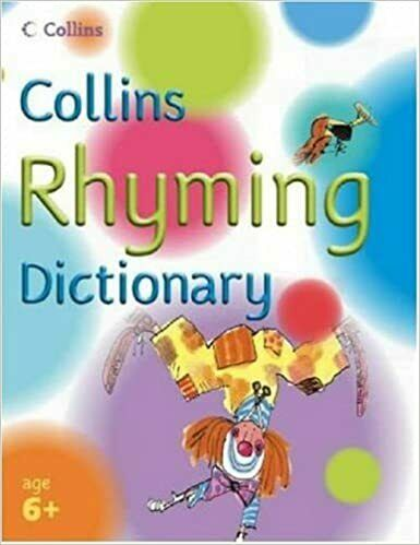 Collins Rhyming Dictionary for Children learning English to build vocabulary