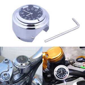 Reloj-de-Manillar-Bicicleta-Impermeable-Motocicleta-Moto-Reloj-De-Reloj-de-montaje-del-manillar
