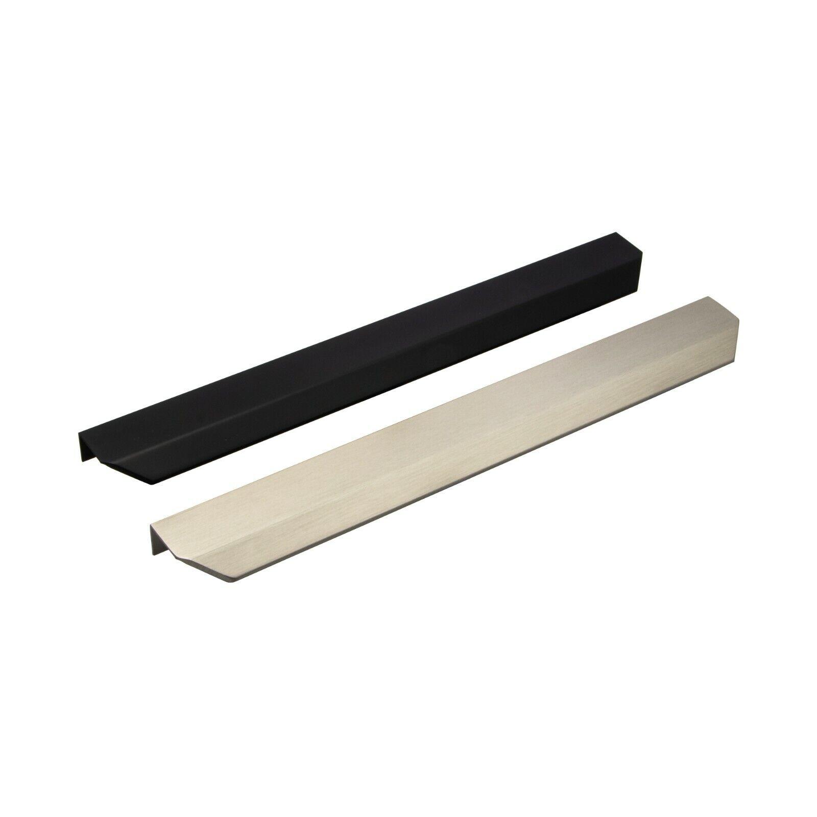 Möbelgriff Griffleiste Griff-Profil schwarz Küchengriff H10308 Schubladengriff