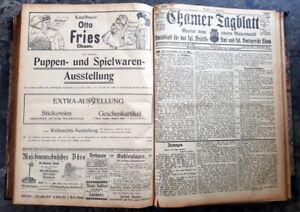 Cham-1908-Zeitung-kompletter-Jahrgang-Chamer-Tagblatt-Kurier-alt-Oberpfalz-bayer