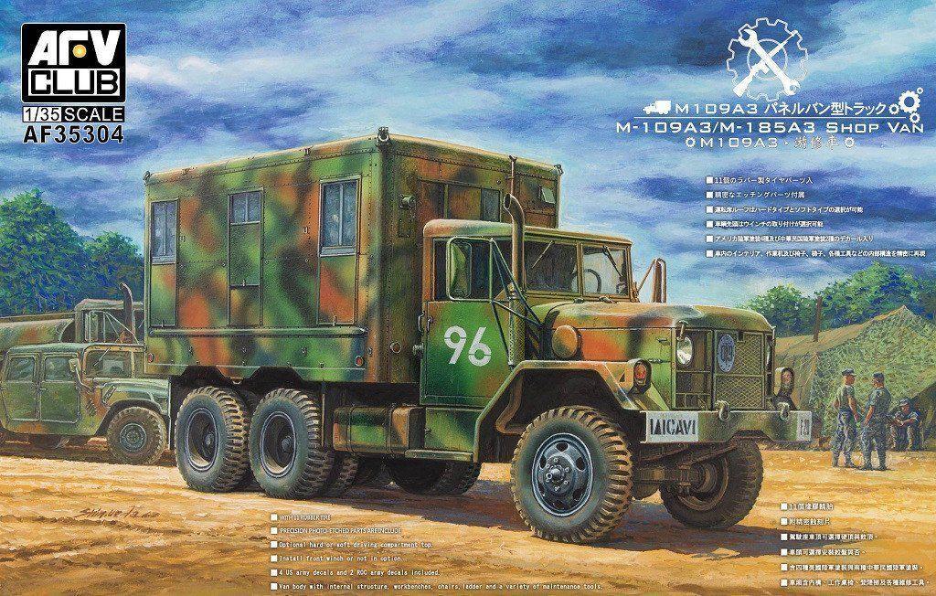 AFV CLUB M109A3 SHOP VAN 1 35 35304