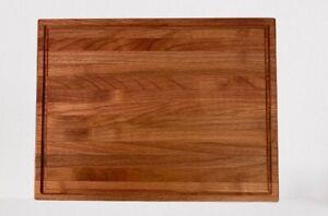 Tagliere da cucina in legno di ciliegio massello 395x300x27 made in Italy