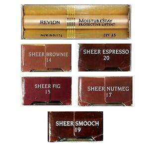 REVLON-1-Stick-MOISTURESTAY-Protective-LIPTINT-Lip-Color-SPF25-YOU-CHOOSE