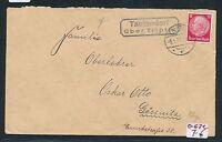 91444) DR   DDR Landpost Ra2 Tautendorf über Triptis, Brief 1931
