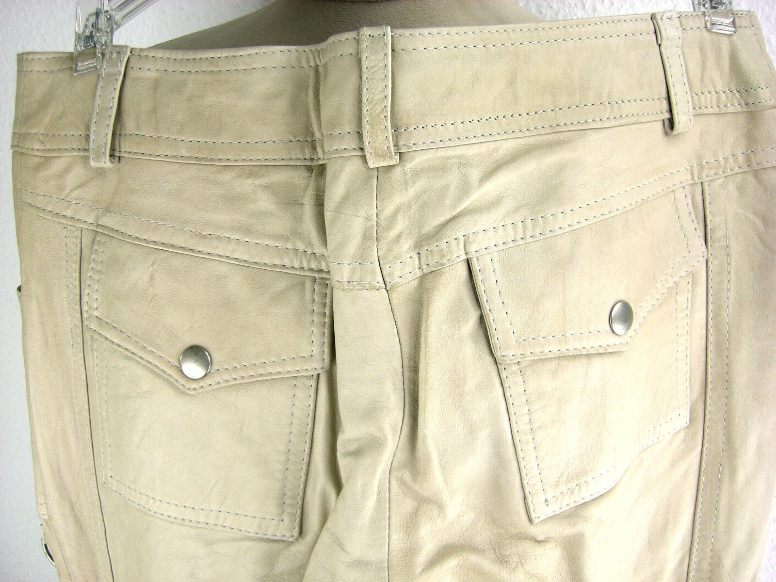 Mel & Davis NEW YORK ORIGINALE Nappa Pantaloni Pantaloni Pantaloni Lederhose lammnappahose Pantaloni Nuovo 634edc