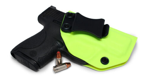 Concealment Express Safety Yellow KYDEX IWB Gun Holster