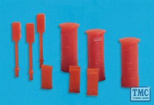 5191 Modelscene N Gauge Post Boxes Pack of 9