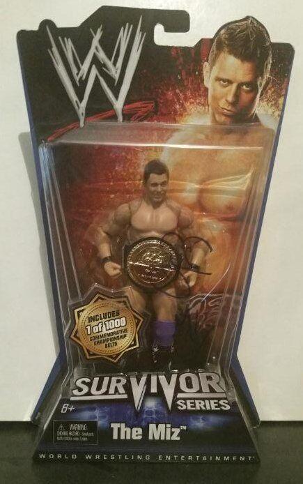 The Miz Cargraphed Signed Jakks WWE Classic Superstars Survivor Series  1 1000