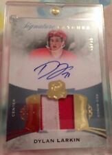 2015-16 The Cup DYLAN LARKIN Rookie Signature Patches 99/99 !! 2 Color Patch