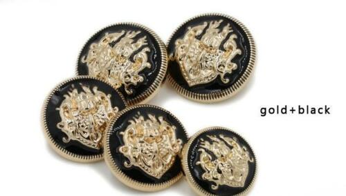 lot  british style high-grade metal buttons coat jacket you pick 10pcs