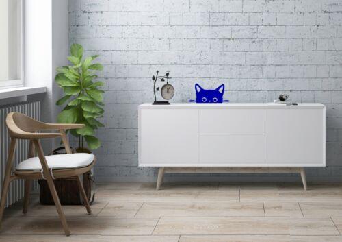 Peeking Cat Inspired Design Home Peek A Boo Decor Wall Art Decal Vinyl Sticker