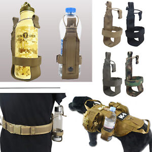 Tactical Lightweight MOLLE Belt Bottle Holder (4 Colors Option)