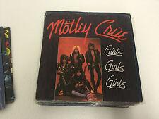 "Motley Crue - Girls Girls Girls 7"" UK Vinyl EX/VG EKR 59"