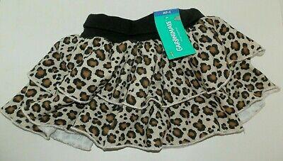 Garanimals Baby Girl Black Ruffled Skort Skirt SIZE 18 MONTHS