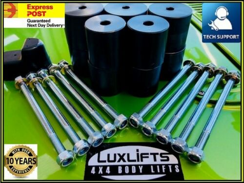 """LUXLIFTS 4x4 GQ Y60 PATROL LWB 4 DOOR WAGON BODY LIFT  1/"""" INCH 25MM"""
