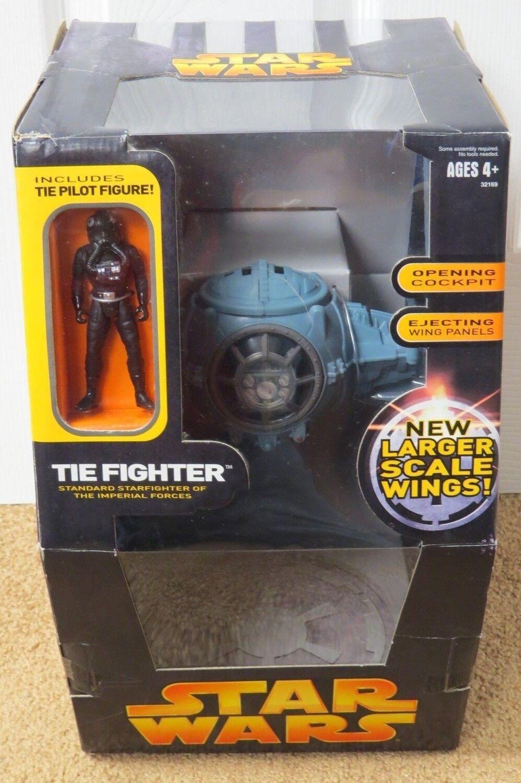 Estrella Wars Tie Fighter + piloto mayor escala alas la venganza de los Sith Colección Sellado