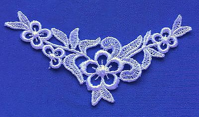 Venise Applique price for 2 pc 4 x 2 inch