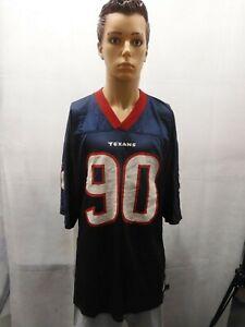 Details about Mario Williams Houston Texans Reebok NFL Jersey Blue XL