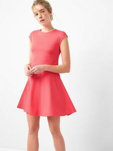 9433fa9ecb Image is loading Gap-Bunny-Tie-Fit-and-Flare-Dress-in-