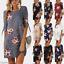 Women-Ladies-Floral-Long-Tops-Blouse-Summer-Beach-Tunic-Boho-Dress-Plus-Size-New thumbnail 3