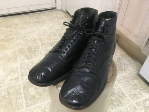 VINTAGE 40S J D MURPHY KANGAROO LEATHER SHOES GOOD