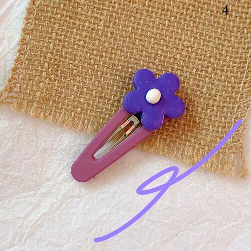 Girls Flower Hair Clip Hairpin Barrettes Waterdrop BB Hairpins Hair Accessories