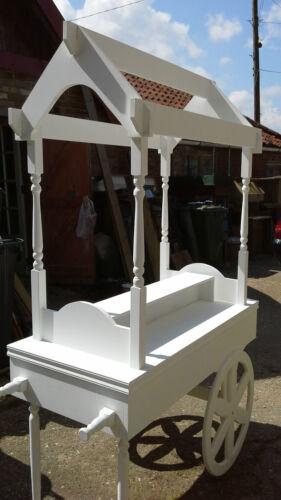 unpainted Wedding Sweet Candy Cart