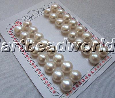 variations color 8 16pair 12mm 15 color freshwater pearl earring loose bead stud