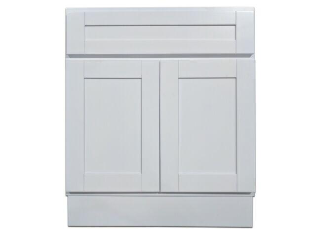 Kingway 27-inch Vanity Cabinet Super White | eBay