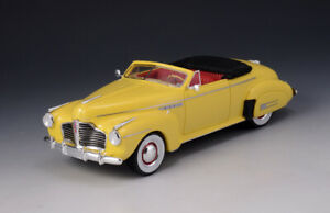 1-43-GLM-Buick-Roadmaster-Convertible-76C-1941-Yellow-Open-top-GLM107801