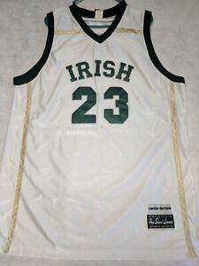 online retailer 95340 aea9f Details about Lebron James The Original High School Legends Irish #23  Jersey Limited Edition