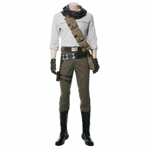 Star Wars 9 The Rise of Skywalker Cosplay Poe Dameron Costume Uniform No shoes