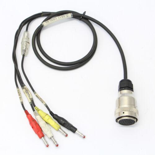 MERCEDES star diagnostic c3 Diagnostic Câble prüfkabel 4pin fiches bananes 6511120099