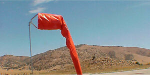 LARGE-AVIATION-WINDSOCK-KIT-FRAME-amp-SOCK-for-AIRPORT-18-034-x-96-034