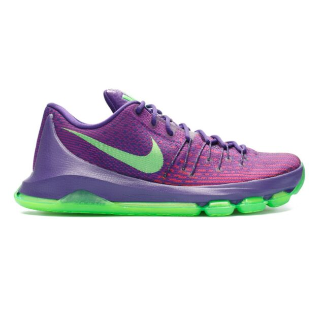 heroico Hassy espalda  kd 8 purple and green Kevin Durant shoes on sale