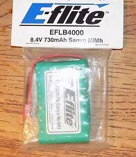 E-flite EFLB4000 730mAh 8.4v Sanyo NiMh Flat Battery NIP