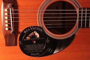 Details about Retro Album Art Vinyl Pickguard for Acoustic Guitar Classic  Vintage RCA Victor