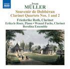 Souvenir de Dobb'ran/Klarinettenquartette von Berolina Ensemble,Roth,Fuchs,Le Roux (2012)