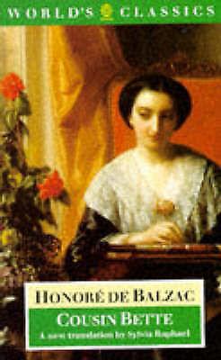 Cousin Bette (World's Classics), Balzac, Honore de, Very Good Book