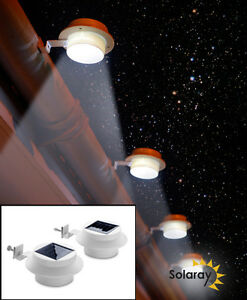 Easyfit gutter downlights garden lights outdoor light solar powered image is loading easyfit gutter downlights garden lights outdoor light solar aloadofball Choice Image