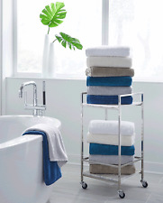 Sferra Sarma Bath Towel, WHITE (Set of 2)