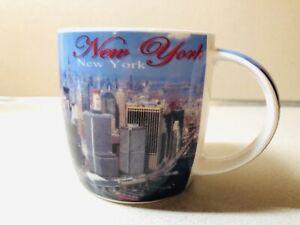 New York City 12oz Coffee Cup NYC City Skyline Souvenir Collectable Mug Cup