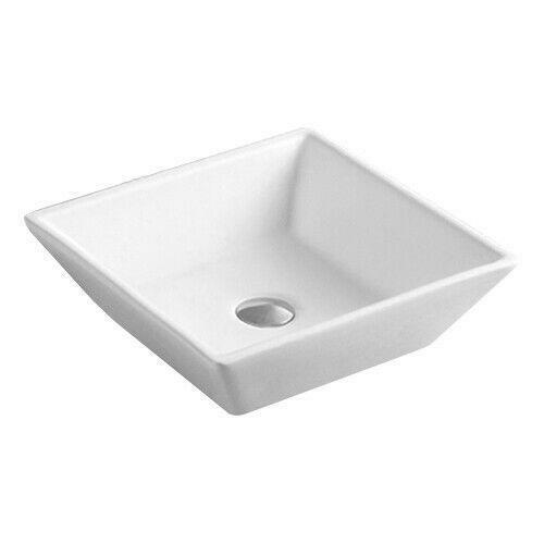 Ticor 20 1 2 Square White Porcelain
