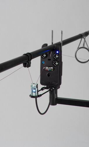 Delkim ES Indication Set Blue Illuminating Hanger Fishing Indicators