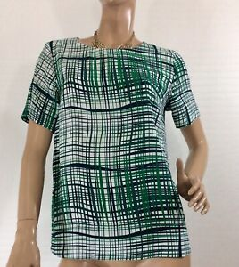 TARGET-COLLECTION-SIZE-12-ABSTRACT-STRIPES-PRINT-TOP-NWOT