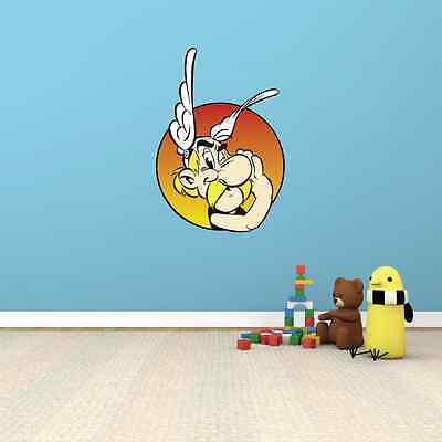 """Asterix and Obelix Kids Room Wall Garage Decor Sticker Decal 20""""X25"""""""