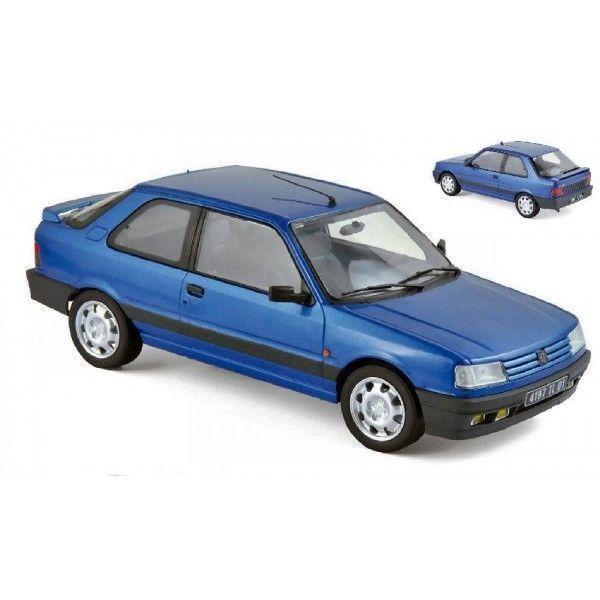 NOREV 1 18 18 18 AUTO DIE CAST PEUGEOT 309 GTI 16 1991 MIAMI azul azul    ART 184881 bb0ae0